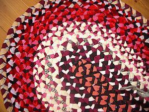 Мастер-класс: делаем коврик из косичек. Ярмарка Мастеров - ручная работа, handmade.