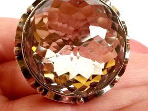 Кольцо «Opium» раухцитрин,серебро 925 ручная работа. Ярмарка Мастеров - ручная работа, handmade.