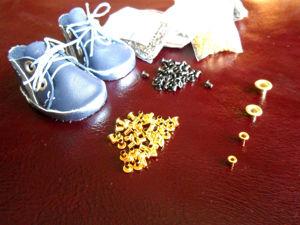Фурнитура — хольнитены, люверсы для кукол. Ярмарка Мастеров - ручная работа, handmade.