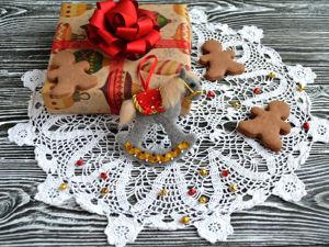 Елочная игрушка «Лошадка». Ярмарка Мастеров - ручная работа, handmade.
