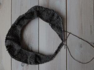 Вяжем кокетку свитера регланом сверху. Ярмарка Мастеров - ручная работа, handmade.