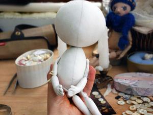 Как лён превращается в бабочку: мастер-класс по созданию текстильной куклы. Часть 1. Ярмарка Мастеров - ручная работа, handmade.