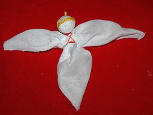 Рождественская елочная игрушка Ангел. Ярмарка Мастеров - ручная работа, handmade.
