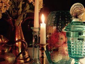 Огонь свечи — это медитация. Ярмарка Мастеров - ручная работа, handmade.