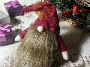 Создаем очаровательного новогоднего гнома. Ярмарка Мастеров - ручная работа, handmade.