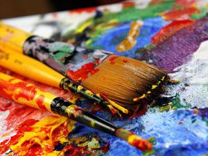 Маленькие хитрости при работе с акриловыми красками. Ярмарка Мастеров - ручная работа, handmade.