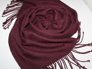 Соткался новый шарф. Ярмарка Мастеров - ручная работа, handmade.