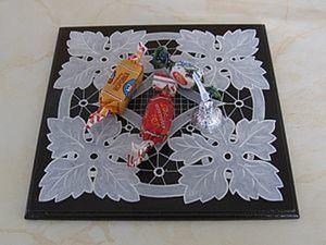 """Панно-подставка """"Листья"""". Ярмарка Мастеров - ручная работа, handmade."""