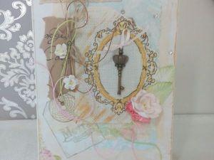 Создаем оригинальную открытку с вышивкой. Ярмарка Мастеров - ручная работа, handmade.