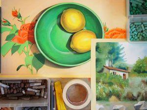 Мини-курс рисования пастелью, 3 индивидуальных урока онлайн. Ярмарка Мастеров - ручная работа, handmade.