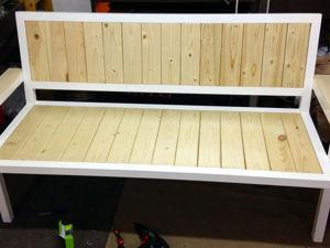 Изготавливаем скамейку для дома или дачи. Ярмарка Мастеров - ручная работа, handmade.