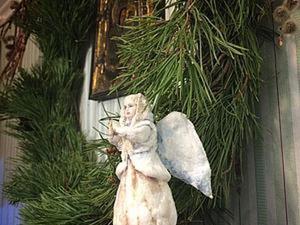 Создаём ватную игрушку «Рождественский ангел». Часть 2. Ярмарка Мастеров - ручная работа, handmade.