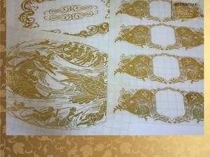 Как в декупаже работать со стикерами из самоклеящейся пленки. Ярмарка Мастеров - ручная работа, handmade.