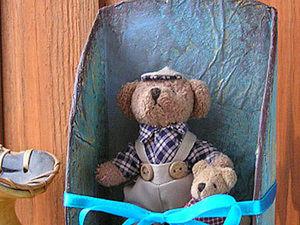 Мастерим полочку из картона для маленьких игрушек. Ярмарка Мастеров - ручная работа, handmade.