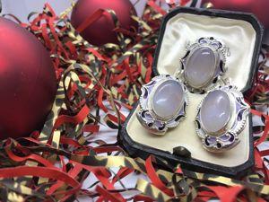 Комплект из серебра с Агатом. Ярмарка Мастеров - ручная работа, handmade.