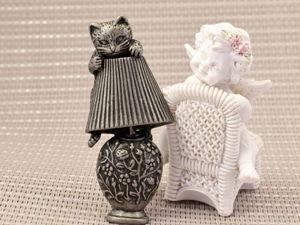 Чудесные винтажные котики от AJC (США). Ярмарка Мастеров - ручная работа, handmade.
