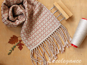 Video Tutorial: Weaving a Chequered Scarf. Livemaster - handmade