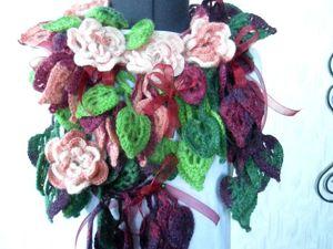 Распродажа шарфиков-колье от 799руб!. Ярмарка Мастеров - ручная работа, handmade.