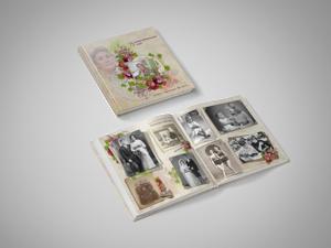 Ретро фотокнига из старых фотографий — в подарок маме или бабушке. Ярмарка Мастеров - ручная работа, handmade.