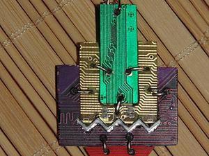 Микросхемы в тренде: мастерим серьги из печатной платы. Ярмарка Мастеров - ручная работа, handmade.