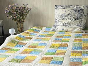 How to Sew a Patchwork Quilt for Beginners. Livemaster - handmade