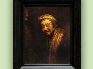 Автопортрет Рембрандта в Кёльнском музее. Ярмарка Мастеров - ручная работа, handmade.