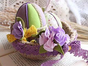 Easter Nest: Creating an Interior Decoration. Livemaster - handmade