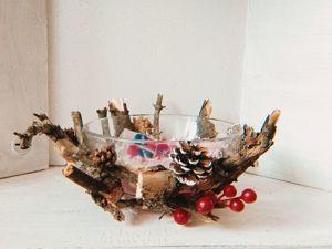 Создаем конфетницу в стиле Есо. Ярмарка Мастеров - ручная работа, handmade.