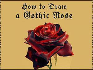Видео мастер-класс: рисуем розу. Ярмарка Мастеров - ручная работа, handmade.