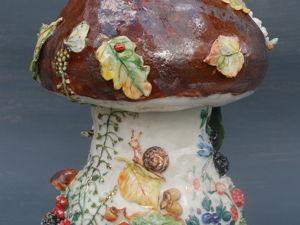Любите ли вы грибы?. Ярмарка Мастеров - ручная работа, handmade.
