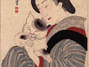 Котики и гейши — для поднятия настроения. Ярмарка Мастеров - ручная работа, handmade.