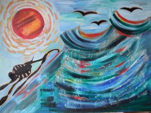 Выставка абстрактного искусства в Дубне. Ярмарка Мастеров - ручная работа, handmade.