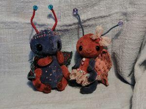 Воскресная скидка на мишку Кузьму и на мотыльков. Ярмарка Мастеров - ручная работа, handmade.