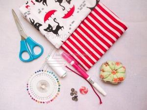 Делаем удобный текстильный пакет Ланч Бэг. Ярмарка Мастеров - ручная работа, handmade.