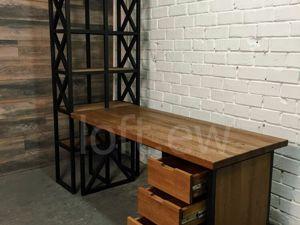 Рабочий стол в стиле лофт. Ярмарка Мастеров - ручная работа, handmade.