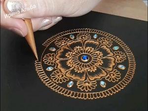 Как свернуть конус для росписи мехенди. Ярмарка Мастеров - ручная работа, handmade.