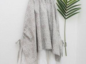 Новинка.  Льняная летняя юбка в стиле бохо. Ярмарка Мастеров - ручная работа, handmade.