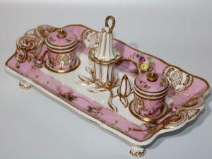 Стоимость снижена: Письменный набор, Copeland & Garrett, Англия, 1833 — 1847. Ярмарка Мастеров - ручная работа, handmade.
