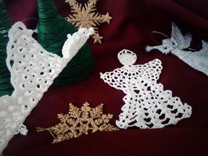 Вязание в праздничном декоре. Ярмарка Мастеров - ручная работа, handmade.
