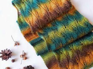 12 мастер-классов как связать свой первый шарф, бактус или снуд для начинающих + БОНУС. Ярмарка Мастеров - ручная работа, handmade.