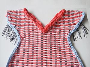 Продолжаем осваивать фигурное ткачество. Фартук для девочки. Ярмарка Мастеров - ручная работа, handmade.