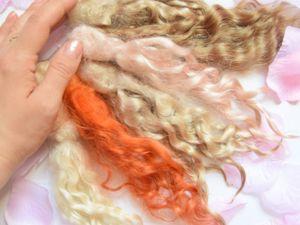 Как подготовить немытые волосы козочки для куклы. Ярмарка Мастеров - ручная работа, handmade.