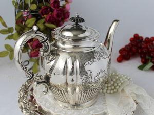Дополнительные фотографии антикварного чайника. Ярмарка Мастеров - ручная работа, handmade.