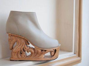 Удивительная обувь от LanVy Nguyen — настоящие произведения искусства. Ярмарка Мастеров - ручная работа, handmade.