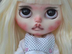 Manu. New Girl. Custom Blythe. Ярмарка Мастеров - ручная работа, handmade.