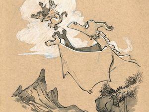 Удивительные драконы Brian Kesinger. Ярмарка Мастеров - ручная работа, handmade.