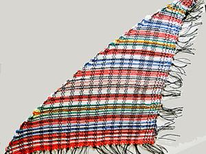 Создаем косынку в технике фигурного ткачества. Ярмарка Мастеров - ручная работа, handmade.