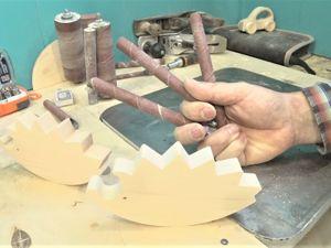 Качественный край на деревянной игрушке и способ фрезеровки мелких деталей. Ярмарка Мастеров - ручная работа, handmade.