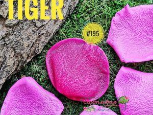 НОВИНКА — Молд для фоамирана  «Лепесток розы сорта Tiger» №195. Ярмарка Мастеров - ручная работа, handmade.