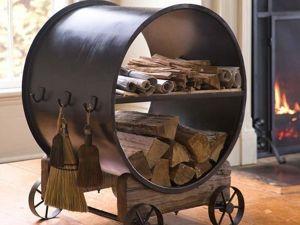 Дровницы — дрова можно хранить красиво. Ярмарка Мастеров - ручная работа, handmade.